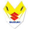 Factory Effex 2013 Front Fender Decal - Suzuki - Factory Effex 2013 Fork Guard Graphics - Suzuki