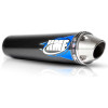 HMF Competition Slip-On Exhaust - 2009 Honda TRX300X FMF Q4 Spark Arrestor Slip-On Exhaust