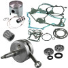 HOT RODS Complete Top & Bottom End Kit - 2-Stroke - 2001 Kawasaki KX60 Wiseco Top And Bottom End Kit - 2-Stroke