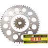 JT Steel Chain And Sprocket Kit - 1995 Suzuki RM80 Sunstar Chain & Steel Sprocket Combo