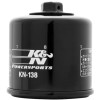 K&N Spin-on Oil Filter - 2008 Suzuki Boulevard C50 SE - VL800C Galfer Front Brake Line Kit