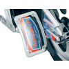 Kuryakyn Lighted Curved Vertical Side Mount License Plate Holder - Kuryakyn Oil Line Cover