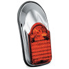 Kuryakyn Slimline Low Profile Tombstone Tail Light - Kuryakyn Oil Line Cover