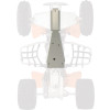 Moose Full Chassis Skid Plate - Moose Swingarm Skid Plate