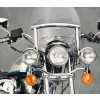 National Cycle Touring / Chopped Heavy Duty Windshield Trim Kit - 1999 Harley Davidson Sportster Custom 1200 - XL1200C National Cycle Light Bar