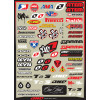 One Industries 2013 Helmet Logos Decal Sheet - One Industries 2013 Youth Carbon Pants