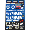 One Industries 2013 Yamaha YZ Decal Sheet - One Industries Monster Right Lane Hoody