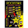 One Industries Rockstar Energy Racing Decal Sheet - One Industries 2013 Youth Carbon Pants