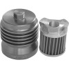 PC Racing Flo Oil Filter - 2005 Yamaha Road Star 1700 Midnight Silverado - XV17ATM BikeMaster Aluminum Magnetic Oil Drain Plug