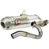 Pro Circuit T-4 Complete Exhaust System - FMF Powercore 4 Complete Exhaust With Stainless Hi-Flo Header - Race
