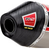 Pro Circuit Ti-5 Carbon End Cap - 2001 Kawasaki KX125 Pro Circuit R 304 Shorty Silencer - 2-Stroke