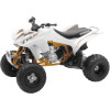 New Ray Toys Die-Cast 2012 Honda TRX450R - New Ray Toys 1:12 2008 Yamaha YFZ450 - Grey