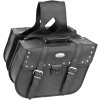 River Road Quest Series Rigid Zip Off Slant Saddlebags With Security Lock - River Road Quantum Series Zip Off & Quick Release Slant Saddlebags