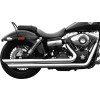 Rush Performance Short Series Slash Cut Full System - Vance & Hines Shortshots Staggered Exhaust