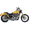 Samson Legend Series Cannons Exhaust - Vance & Hines Switchback Duals Exhaust With Twin Slash Slip-on Mufflers