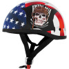 Skid Lid Original Helmet - POW MIA - River Road Grateful Dead Helmet - Flying Steal Your Face