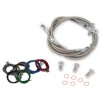 Streamline Front And Rear Brake Line Kit - Rock E-Brake Block Off Plate