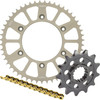 Sunstar Chain & Aluminum Sprocket Combo - 1987 Kawasaki KX500 JT Steel Chain And Sprocket Kit
