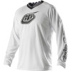 Troy Lee Designs 2014 GP Jersey - White-Out - Troy Lee Designs 2013 SE Pro Jersey - Corse