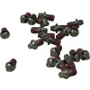 Turner Billet Aluminum Footpeg Screws - Turner Billet Air Filter Bolt