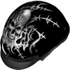 Vega XTA Helmet - Barbed Skull - GMAX GM55 Naked Helmet - Graphic
