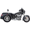 Vance & Hines Deluxe Slip-On Exhaust - Vance & Hines Twin Slash Rounds Slip-On Exhaust