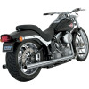 Vance & Hines Softail Duals Exhaust - Vance & Hines Big Shots Long Exhaust