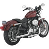 Vance & Hines Straightshots Slip-On Exhaust - Vance & Hines Twin Slash Rounds Slip-On Exhaust